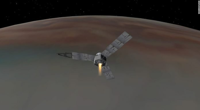 NASA's Juno spacecraft successfully reaches Jupiter's Orbit